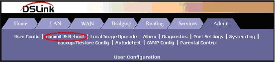 reebot dslink 260e - www.tutorialgratis.com.br