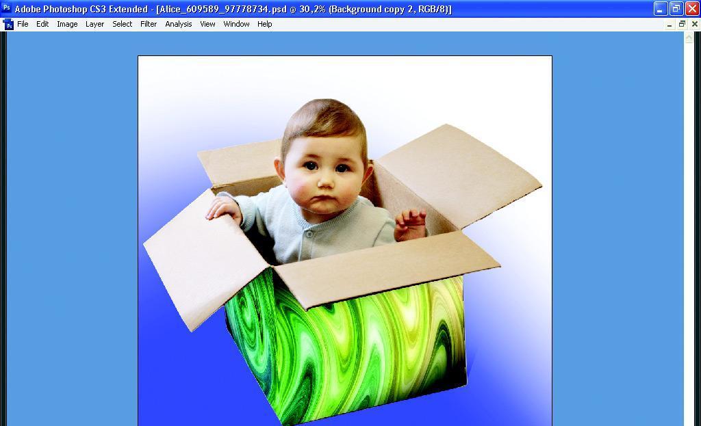 Ponto de Fuga - Photoshop CS2