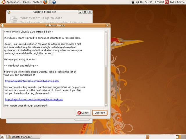 6º Passo Update - Ubuntu
