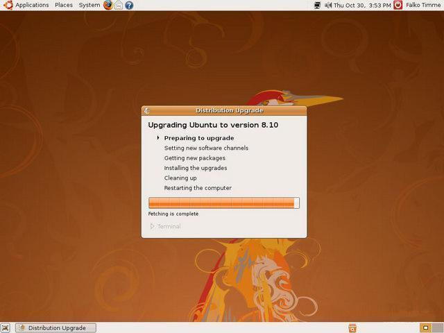 7º Passo Update - Ubuntu
